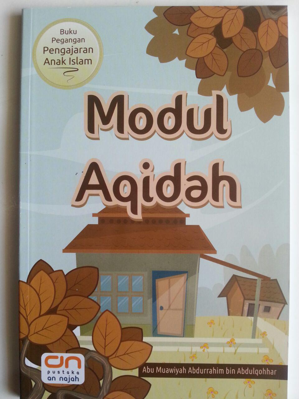 Buku Modul Aqidah Buku Pegangan Pengajaran Anak Islam cover 2