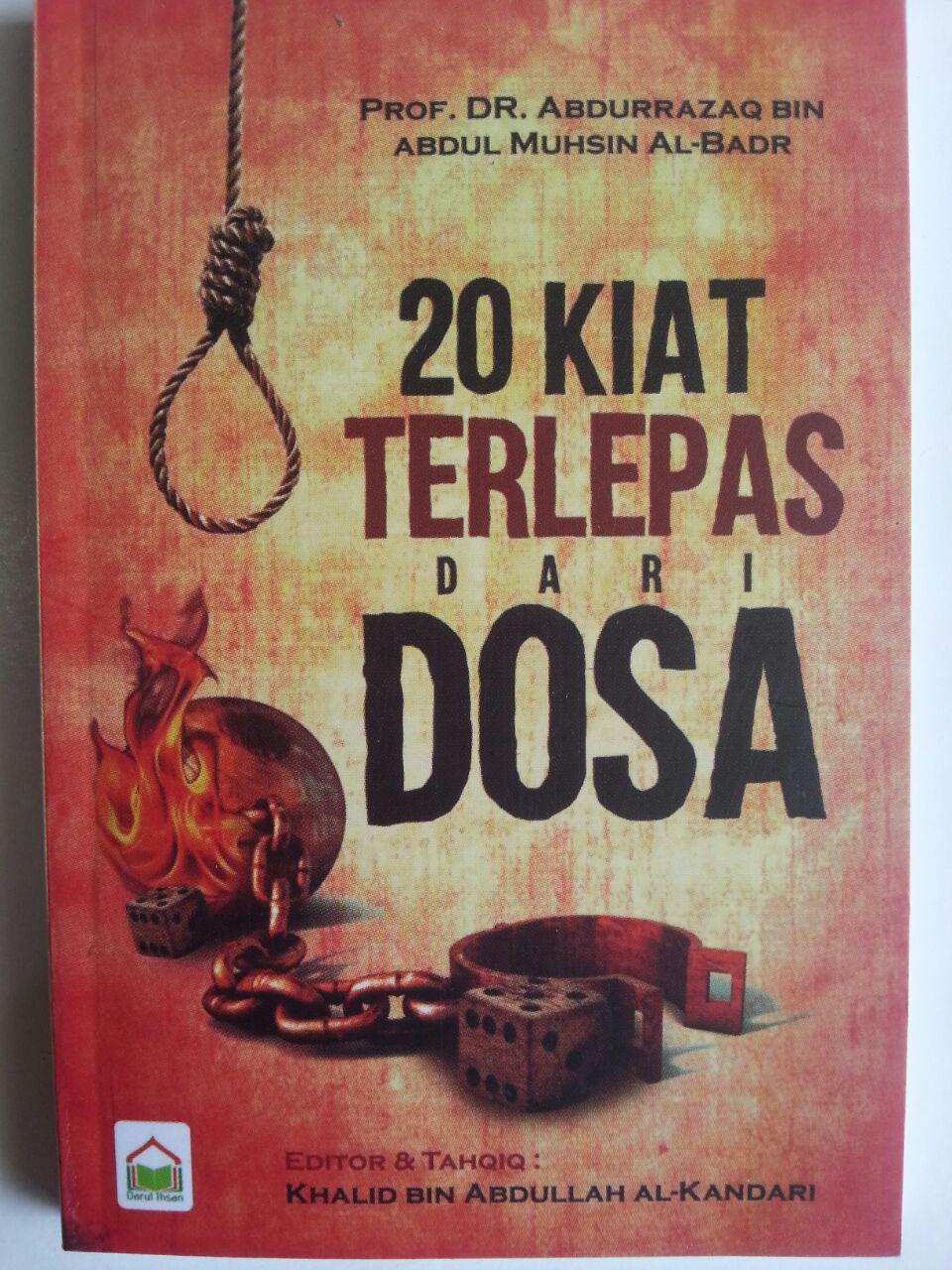 Buku Saku 20 Kiat Terlepas Dari Dosa cover 2