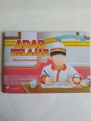 Buku Anak Adab Belajar Menurut Sunnah Nabi cover