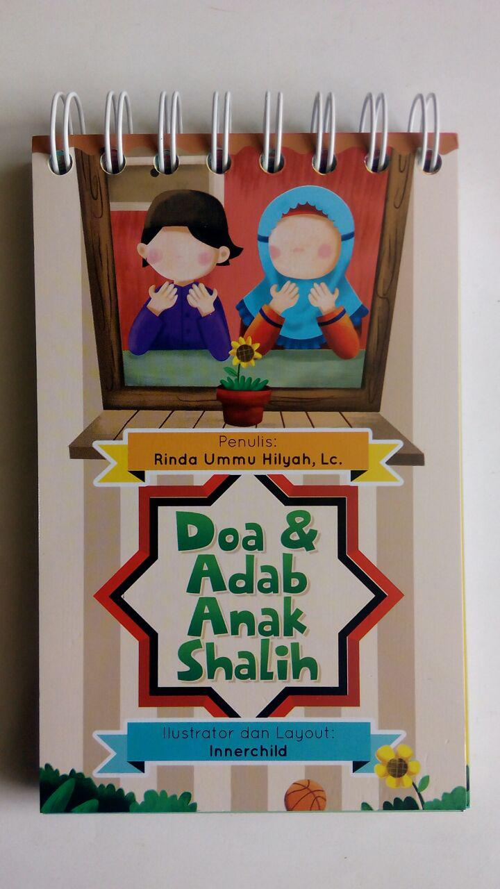 Buku Anak Boardbook Doa Dan Adab Anak Shalih isi