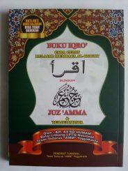 Buku Iqro Cara Cepat Belajar Membaca Al-Quran Plus Juz Amma Terjemah 2 Warna cover