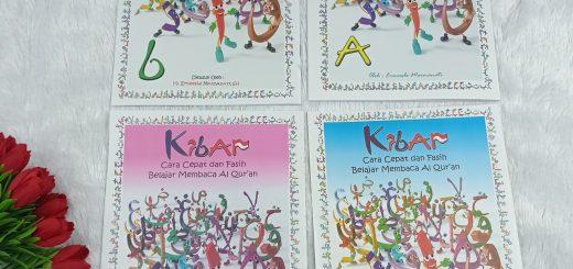 Buku Kibar Cara Cepat Dan Fasih Belajar Membaca Al-Qur'an Full Colour B5 Set