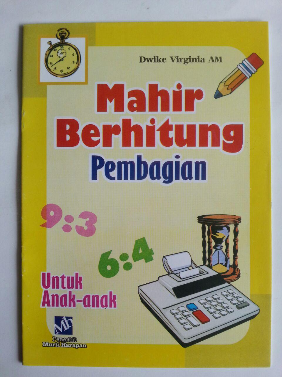 Buku Mahir Berhitung Pembagian Untuk Anak-Anak cover 2