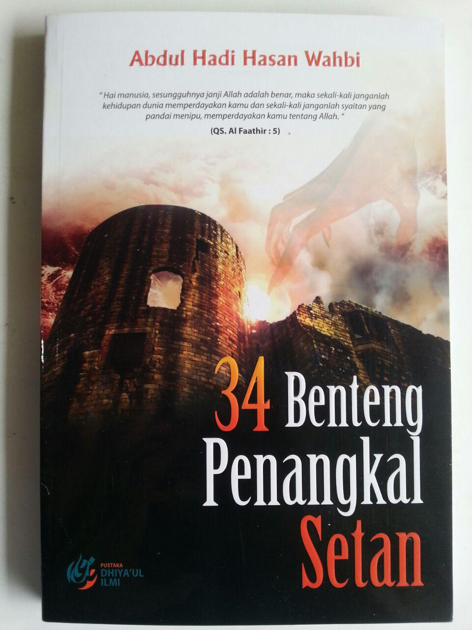 Buku 34 Benteng Penangkal Setan cover 2