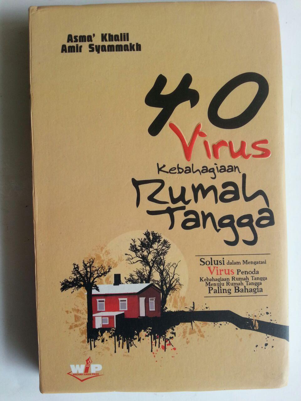 Buku 40 Virus Kebahagiaan Rumah Tangga Solusi Mengatasi Penoda cover 2