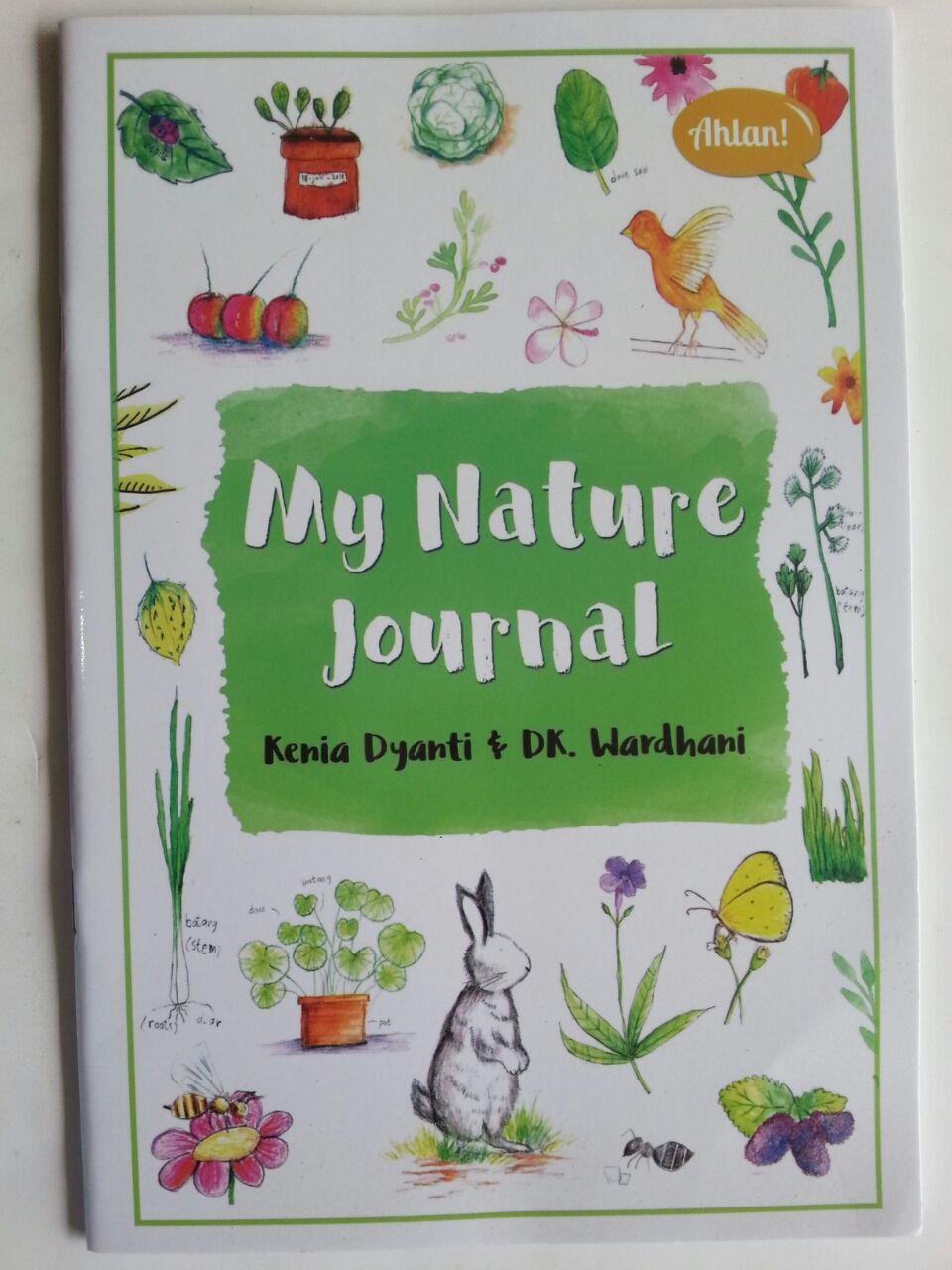 Buku Anak My Nature Journal Pengamatan Dan Gambar Ulang Di Bukuku cover 2