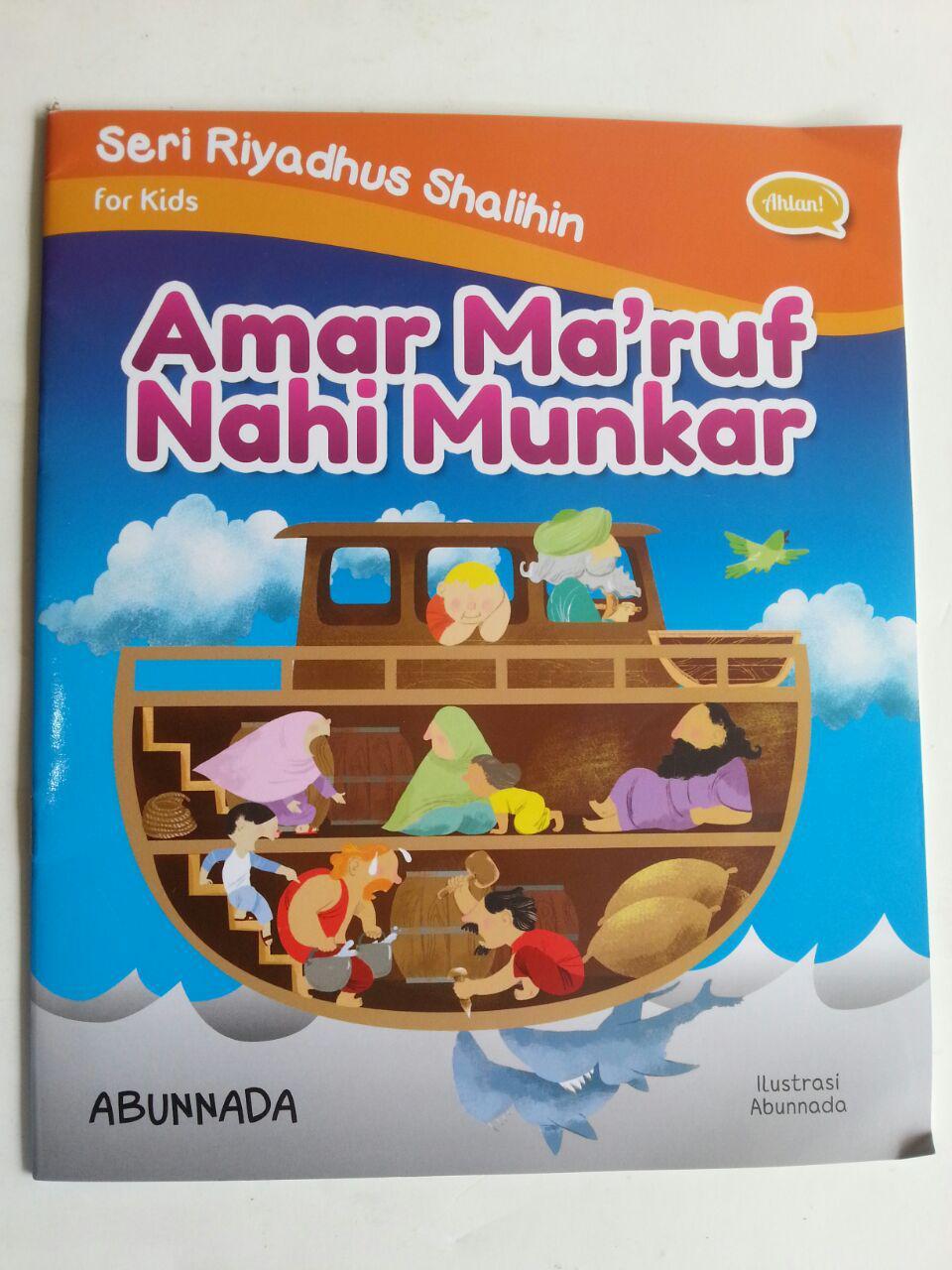 Buku Anak Seri Riyadhus Shalihin For Kids Amar Maruf Nahi Munkar cover 2