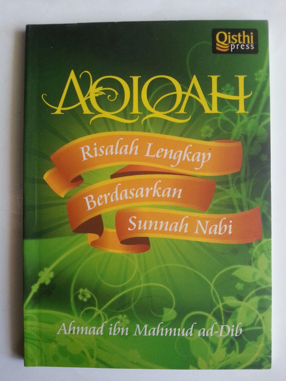 Buku Aqiqah Risalah Lengkap Berdasarkan Sunnah Nabi cover 2