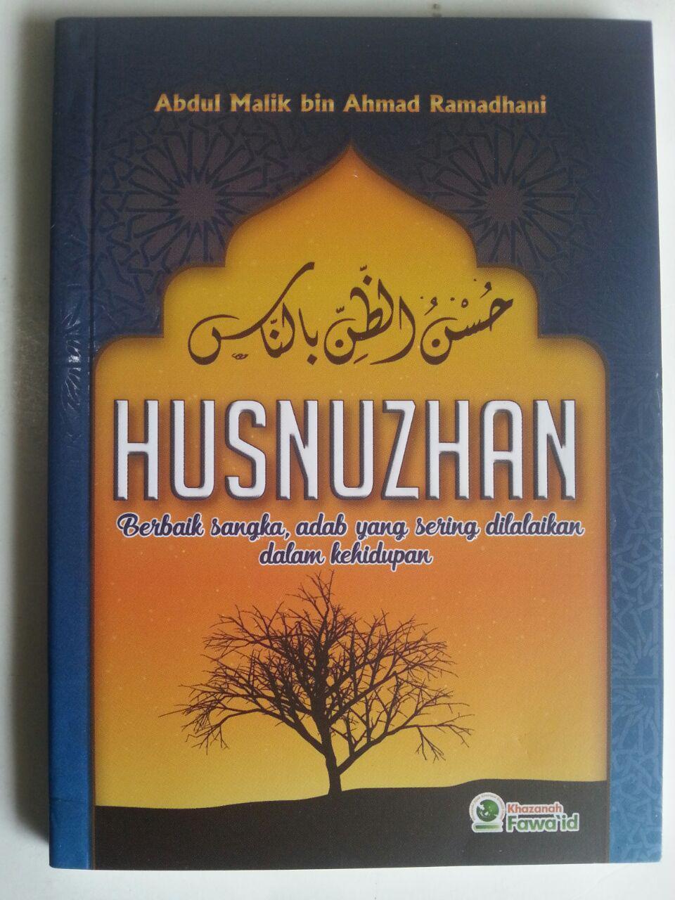 Buku Husnuzhan Berbaik Sangka Adab Yang Sering Dilalaikan cover 2