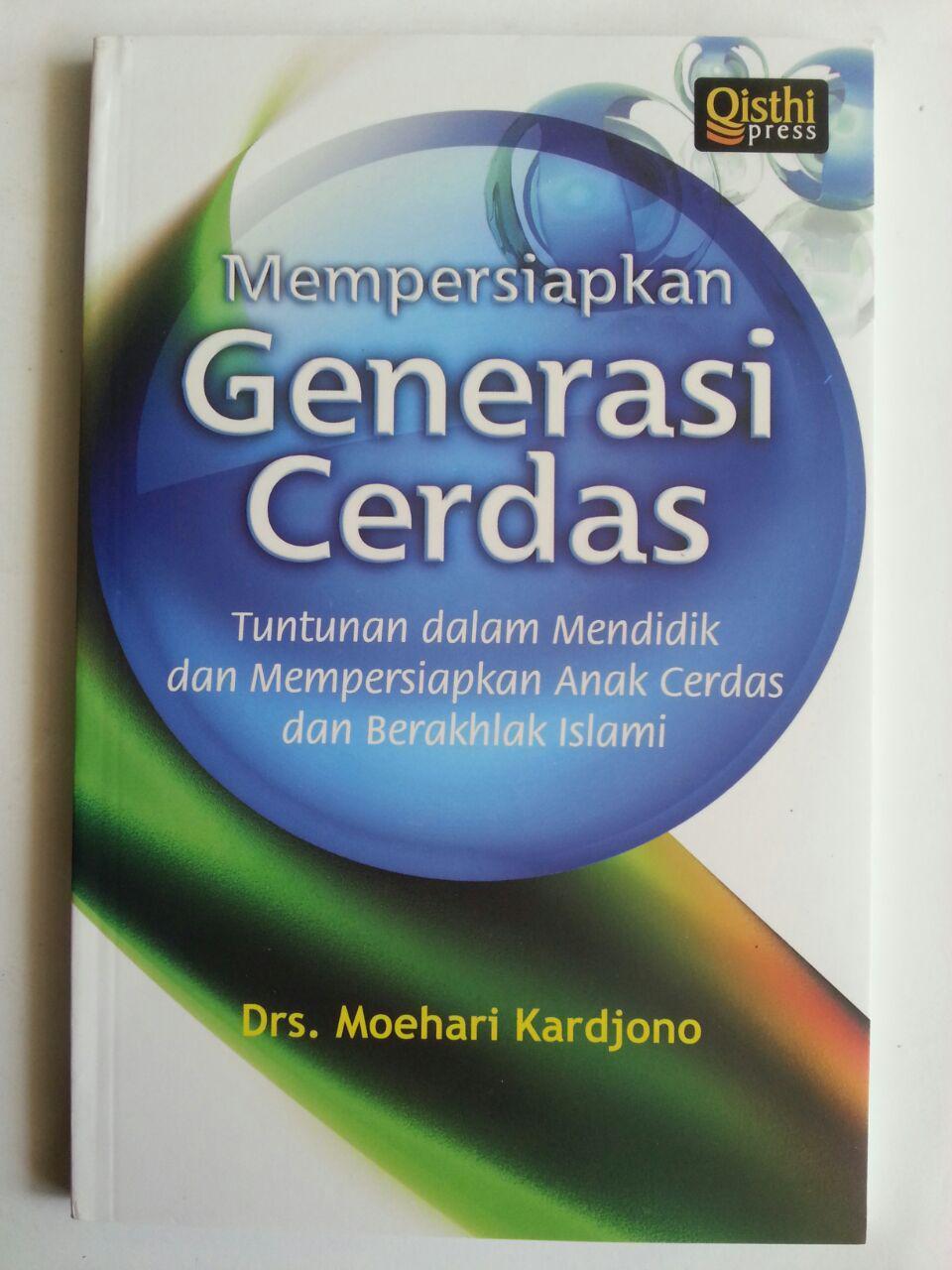 Buku Mempersiapkan Gererasi Cerdas Tuntunan Mendidik Anak cover 2