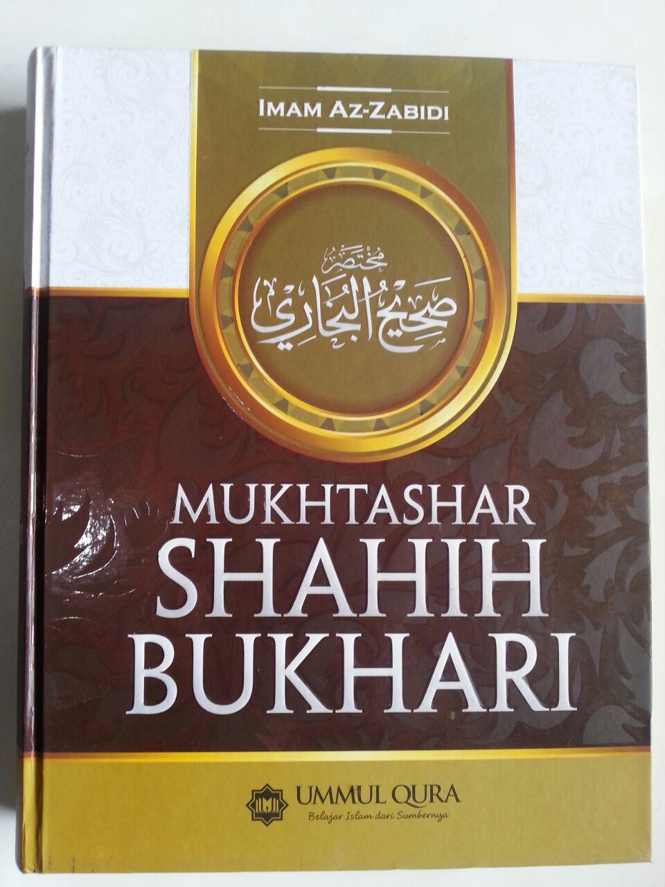 Buku Mukhtashar Shahih Bukhari cover 2