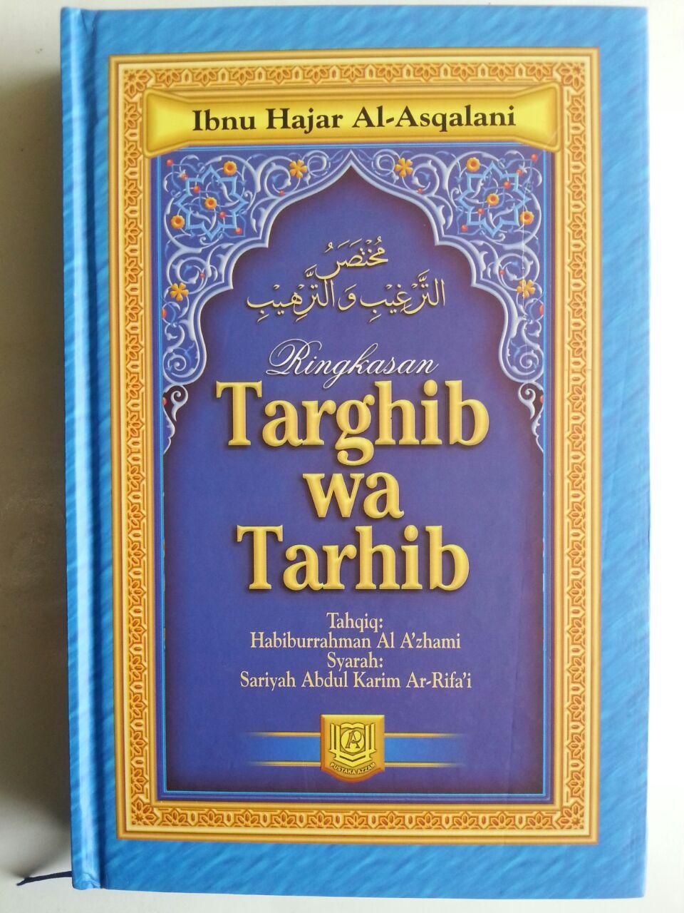 Buku Ringkasan Targhib Wa Tarhib cover 2