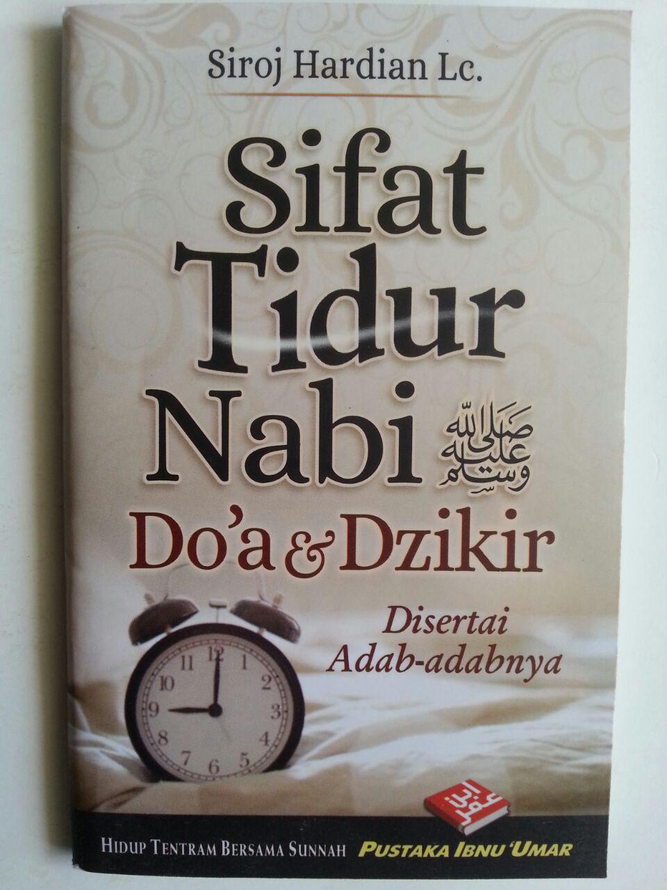 Buku Saku Sifat Tidur Nabi Doa Dan Dzikir Disertai Adabnya cover 2
