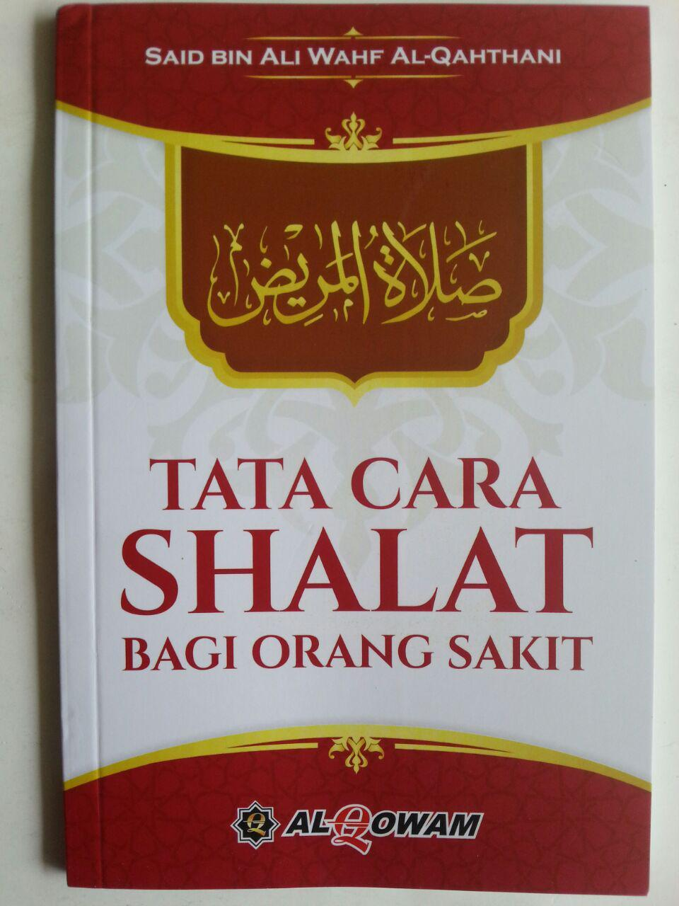 Buku Tata Cara Shalat Bagi Orang Sakit cover 2
