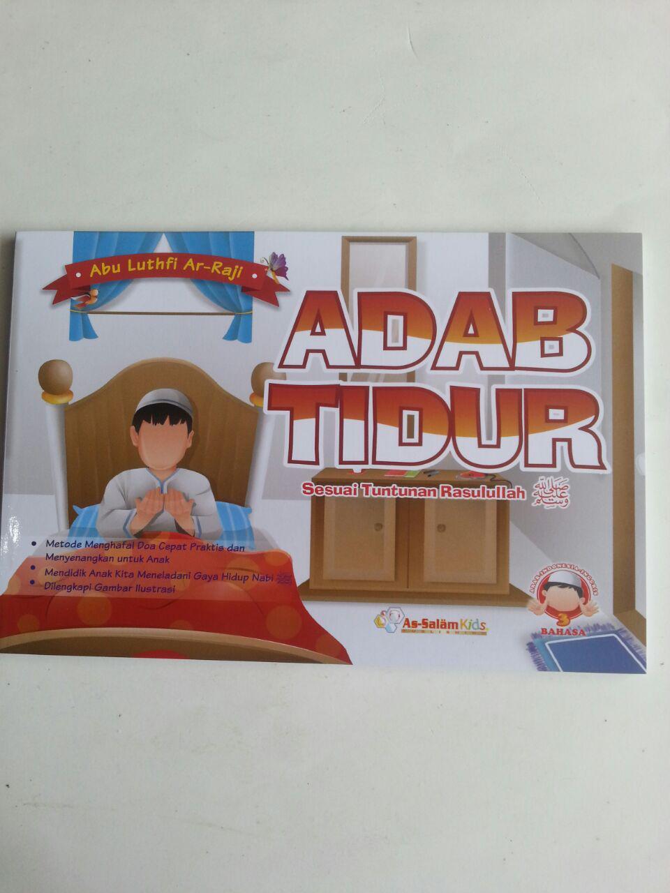 Buku Anak Adab Tidur Sesuai Tuntunan Rasulullah cover 2