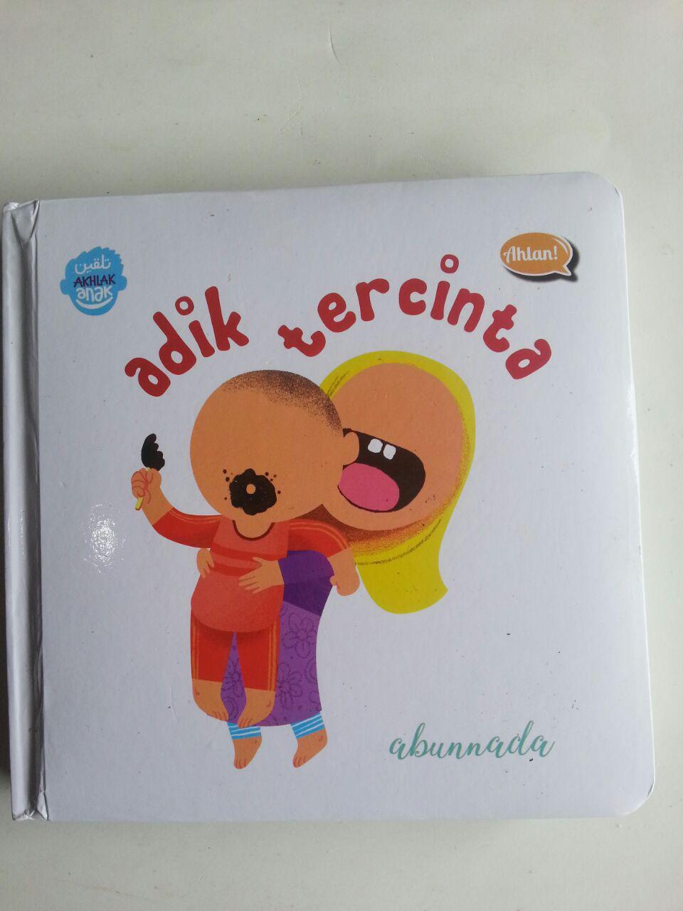 Buku Anak Boarbook Adik Tercinta cover