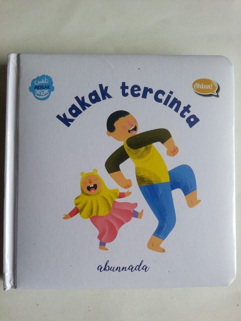 Buku Anak Boarbook Kakak Tercinta cover 2