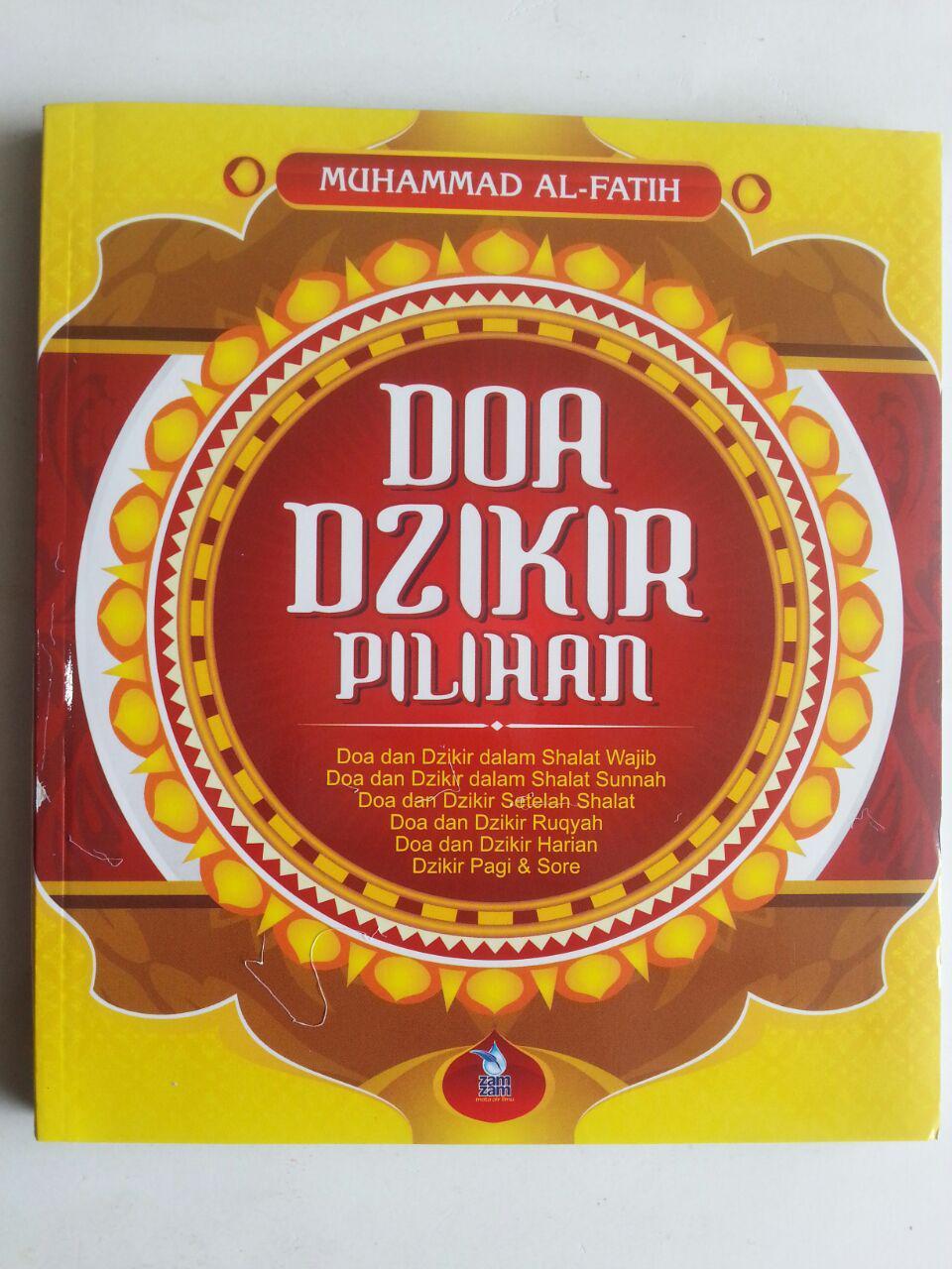 Buku Doa Dzikir Pilihan cover 2
