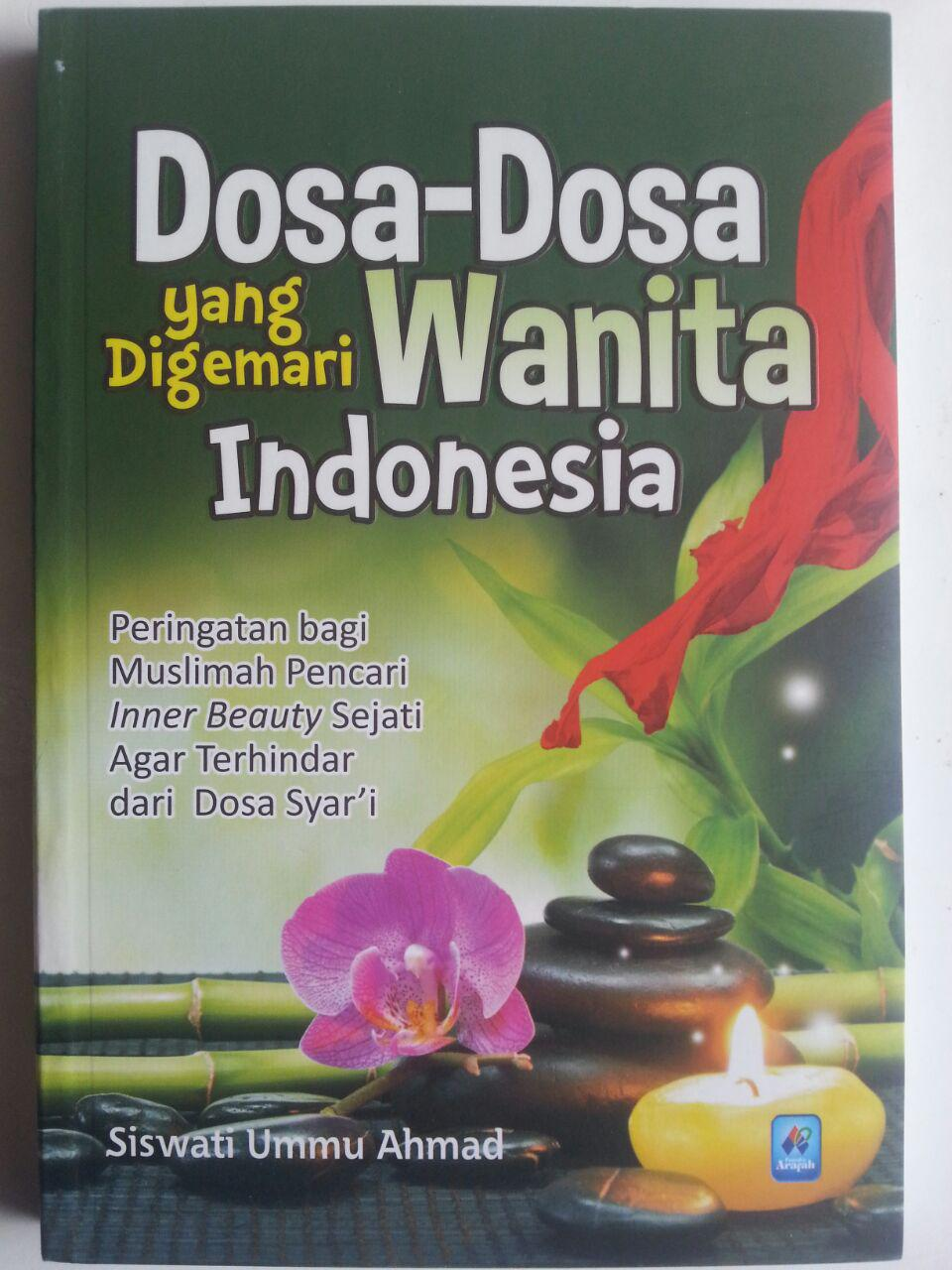 Buku Dosa-Dosa Yang Digemari Wanita Indonesia cover 2