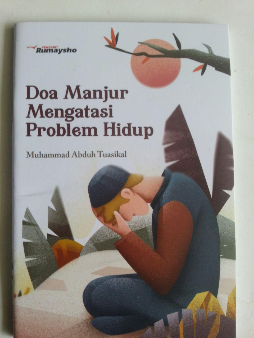 Buku Saku Doa Manjur Mengatasi Problem Hidup cover 2