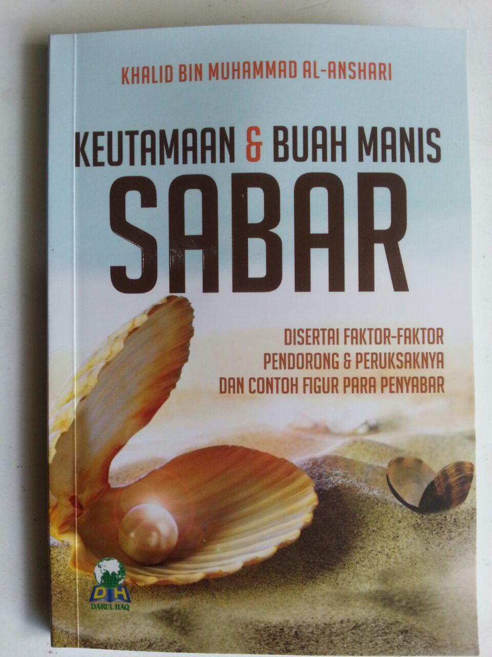 Buku Saku Keutamaan Dan Buah Manis Sabar cover 2