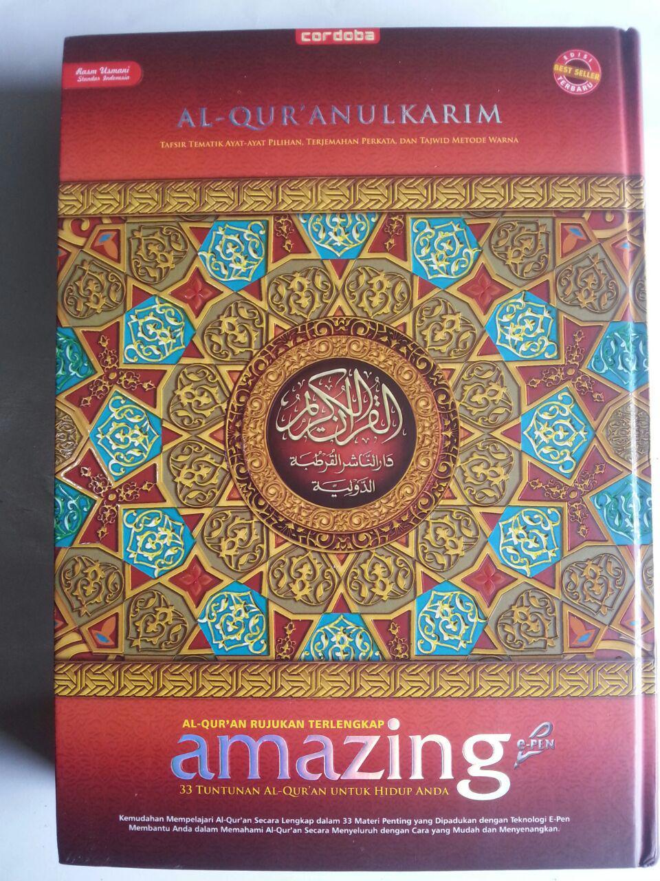 Al-Qur'an Amazing Rujukan Terlengkap 33 Tuntunan Untuk Hidup cover 4