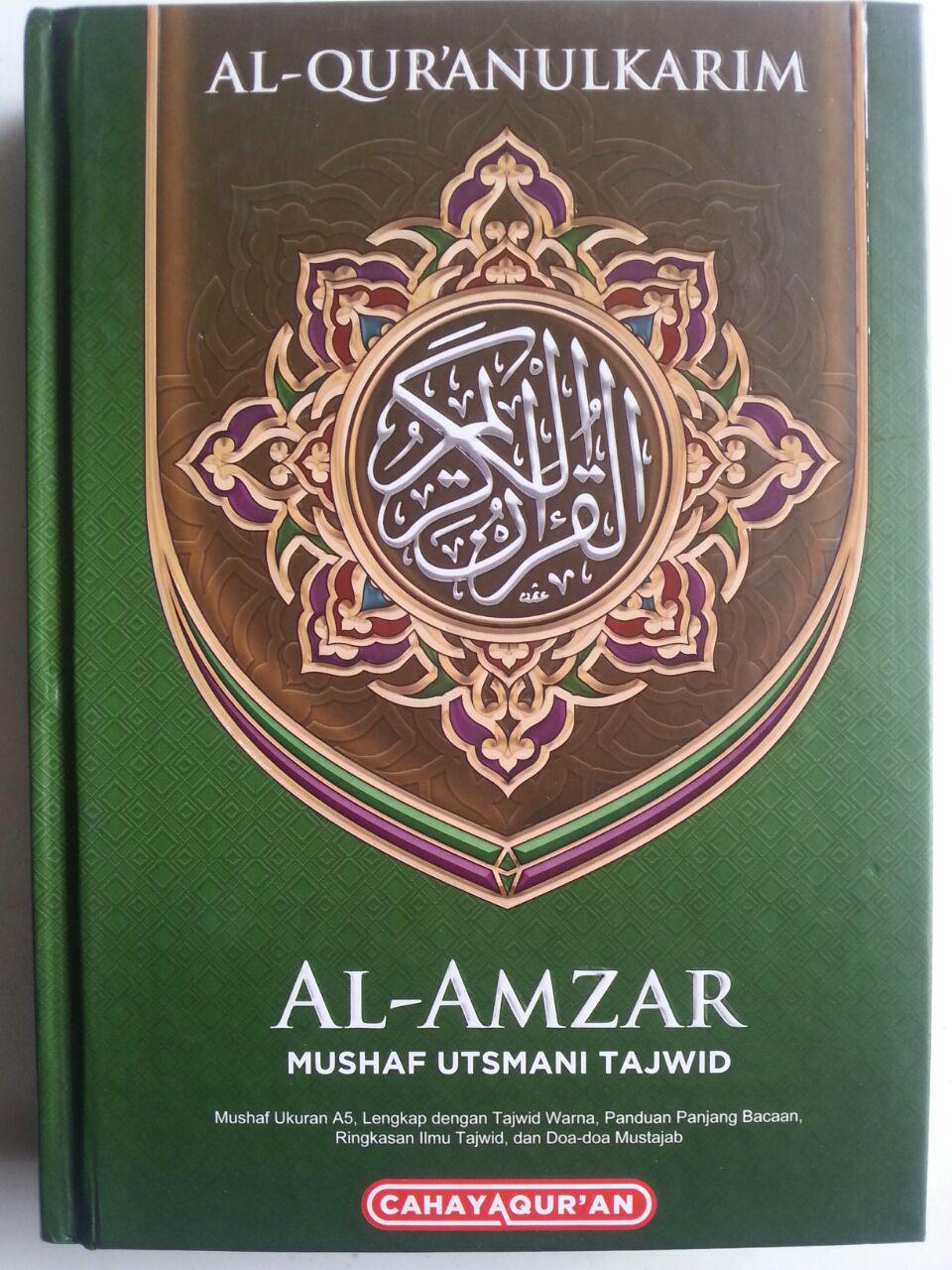 Al-Qur'an Mushaf Utsmani Tajwid Al-Amzar Ukuran A5 cover