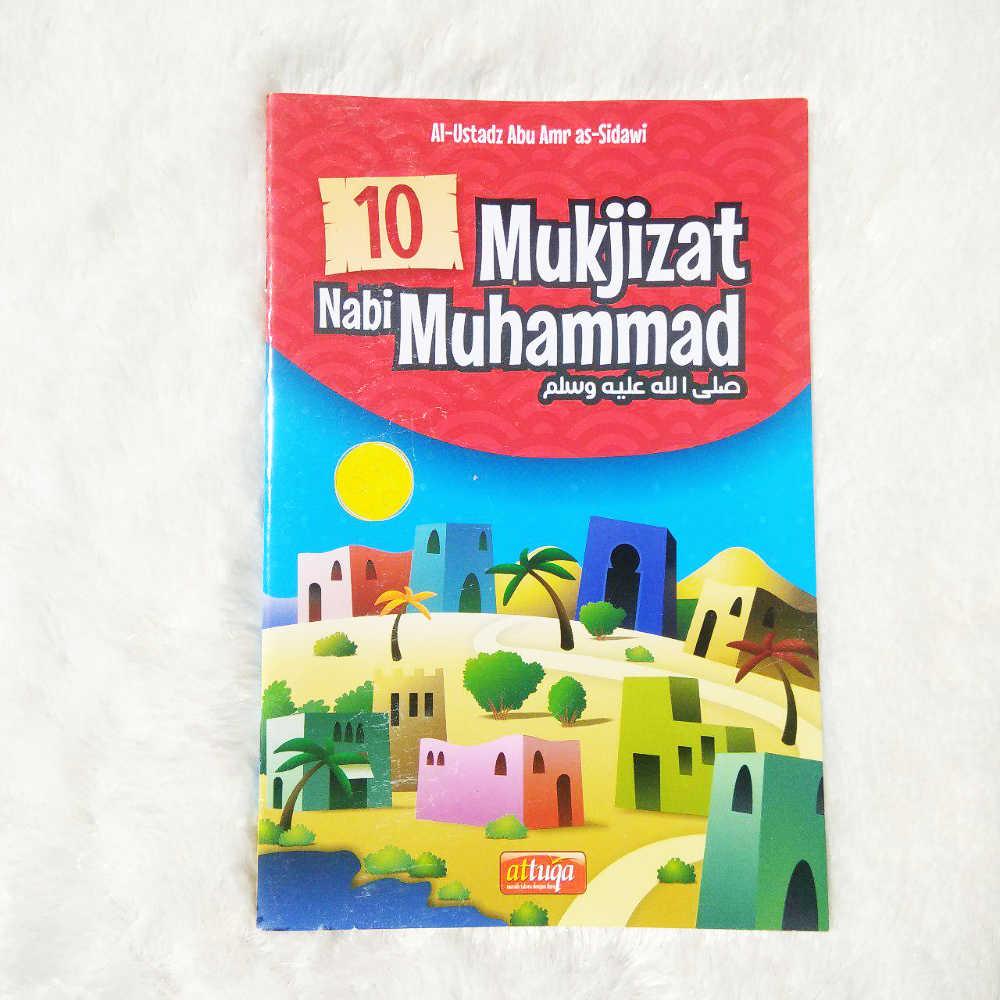 Buku Anak 10 Mukjizat Nabi Muhammad 1