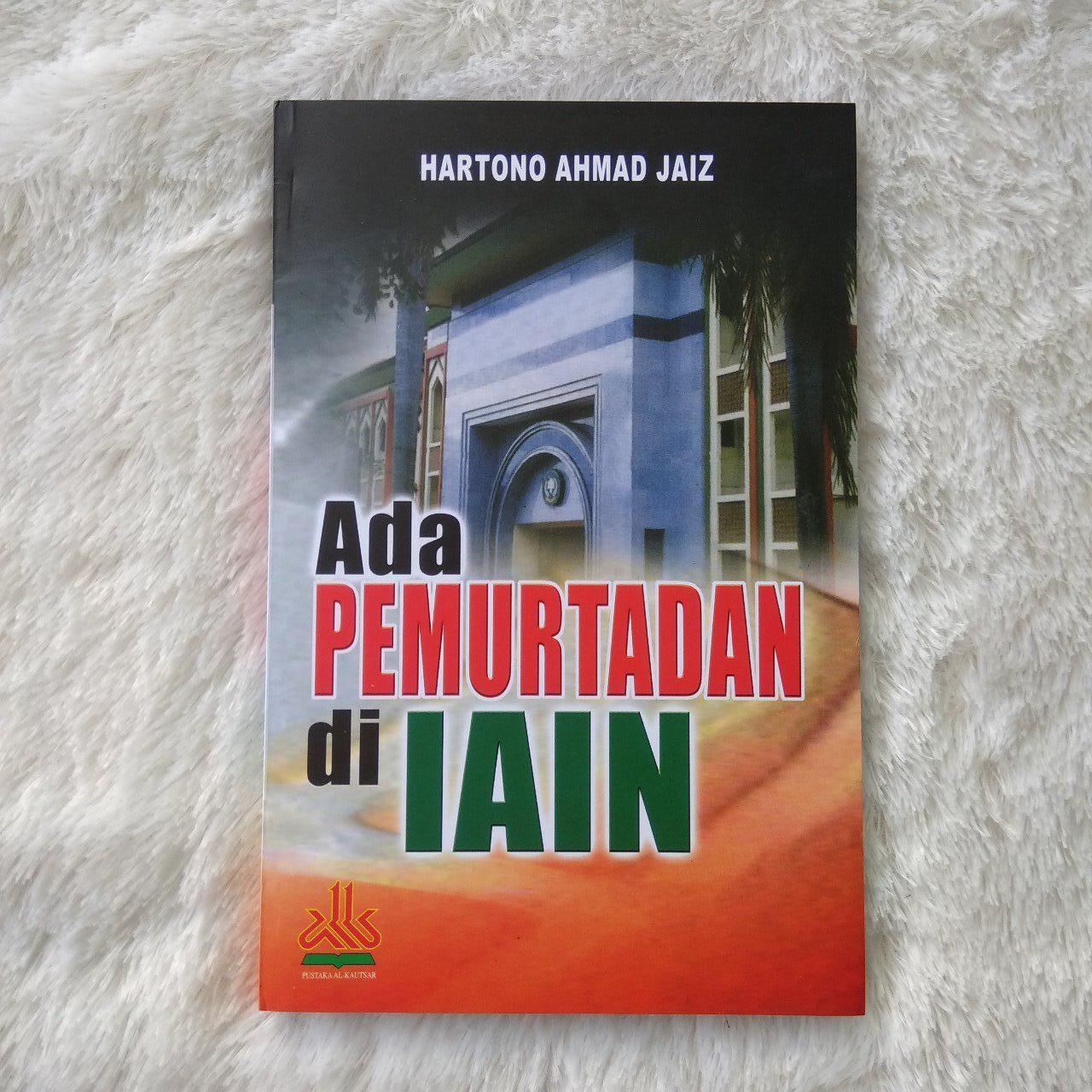 Buku Ada Pemurtadan Di IAIN