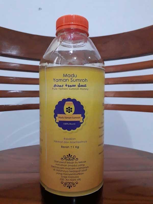 Madu Murni Yaman Sumroh Botol