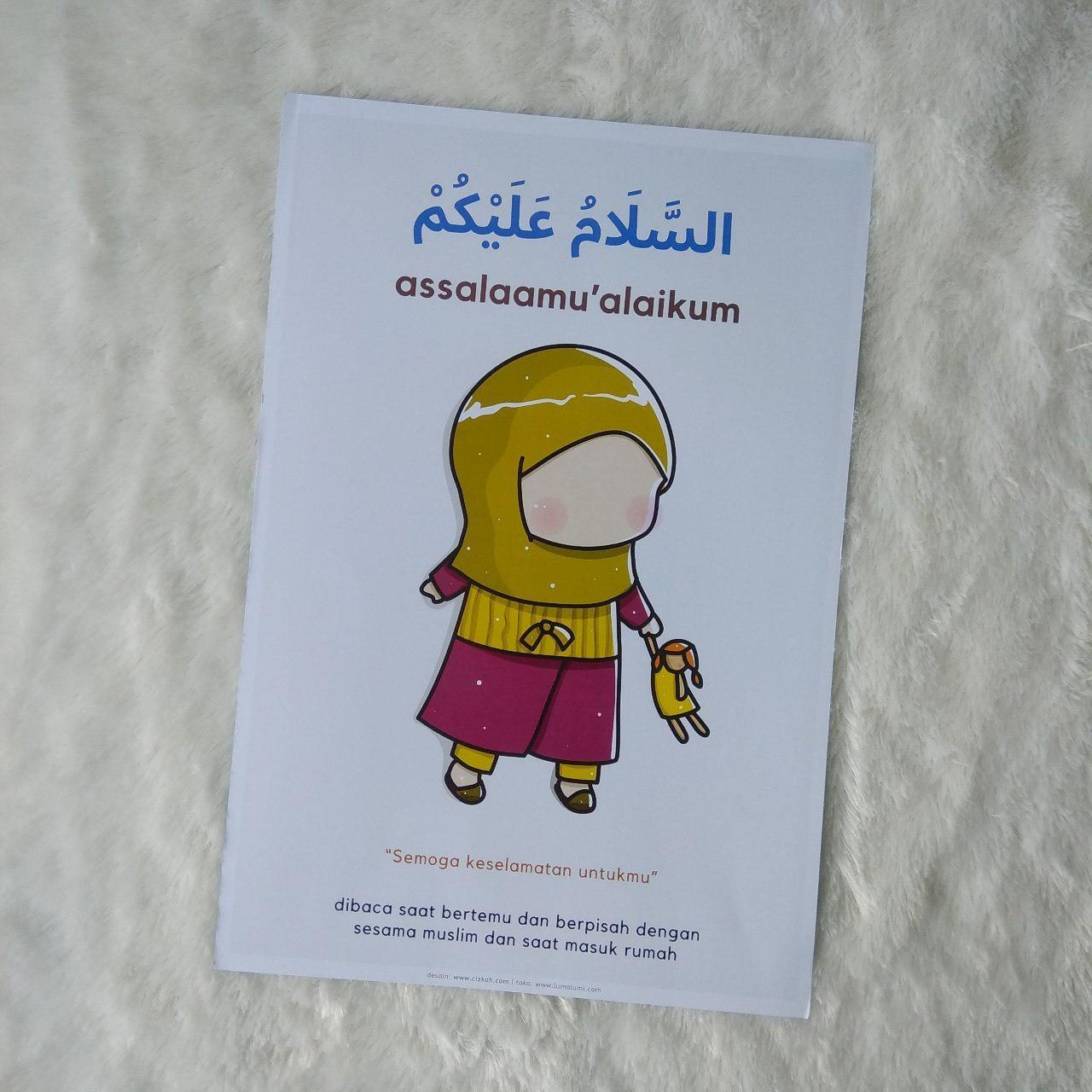 Poster Anak Salam Assalamu Alaikum - Assalaamu Alaikum