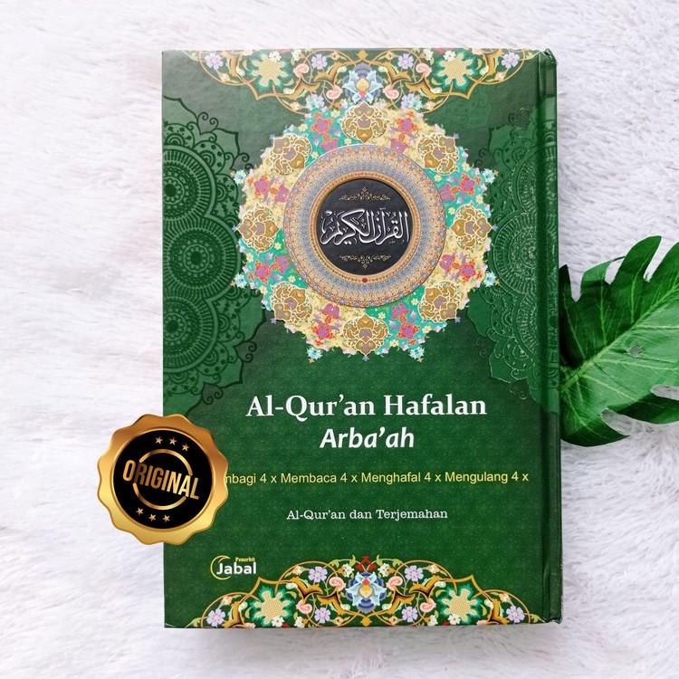 Al-Qur'an Hafalan Arba'ah Metode Lebih Mudah 4 Warna