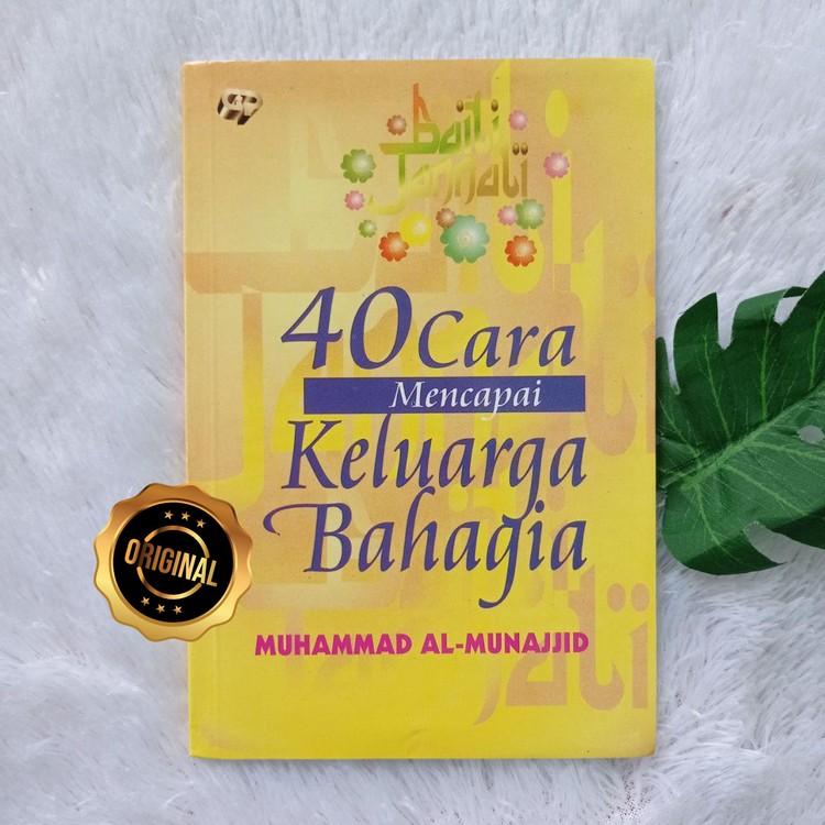 Buku 40 Cara Mencapai Keluarga Bahagia