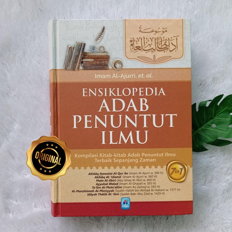 Buku Ensiklopedi Adab Penuntut Ilmu Kompilasi 7 Kitab Terbaik