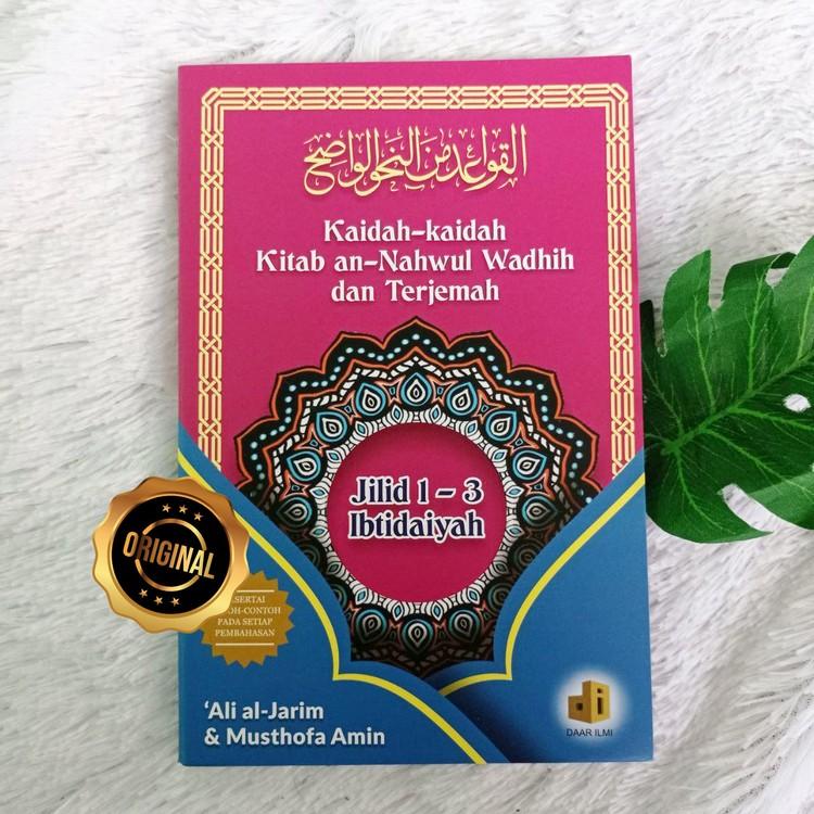 Buku Kaidah-Kaidah Kitab An-Nahwu Wadhih Dan Terjemah Ibtidaiyah