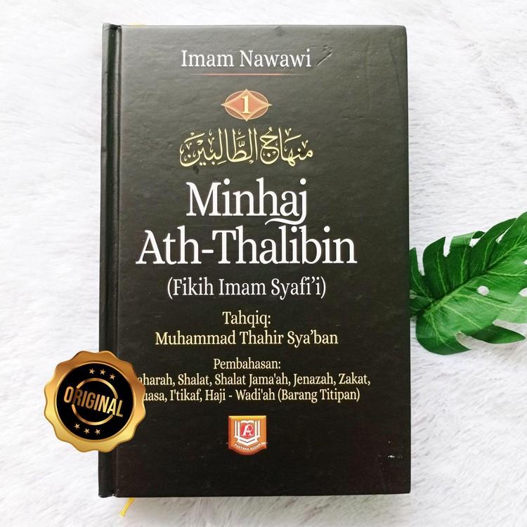 Buku Minhaj Ath-Thalibin Fikih Imam Syafi'i Set 2 Jilid