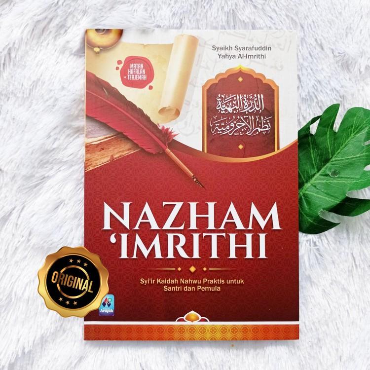 Buku Nazham Imrithi Syair Kaidah Nahwu Praktis Untuk Santri Pemula