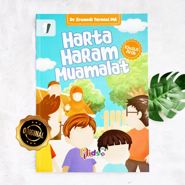 Buku Harta Haram Muamalat Khusus Anak Jilid 1