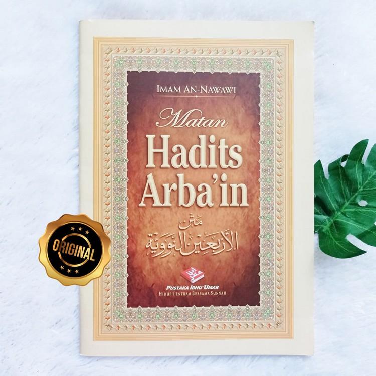 Buku Matan Hadits Arba'in Ukuran Besar B5