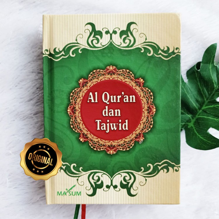 Al-Qur'an Dan Tajwid Lokal Ukuran A6 Tanpa Terjemah Ma'sum