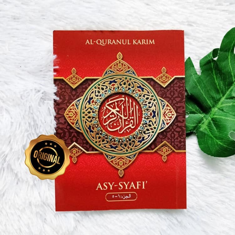 Al-Qur'an Mushaf Tanpa Terjemah Asy-Syafi Per 5 Juz