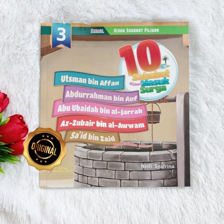 Buku Anak 10 Sahabat Di Jamin Masuk Surga Seri 3