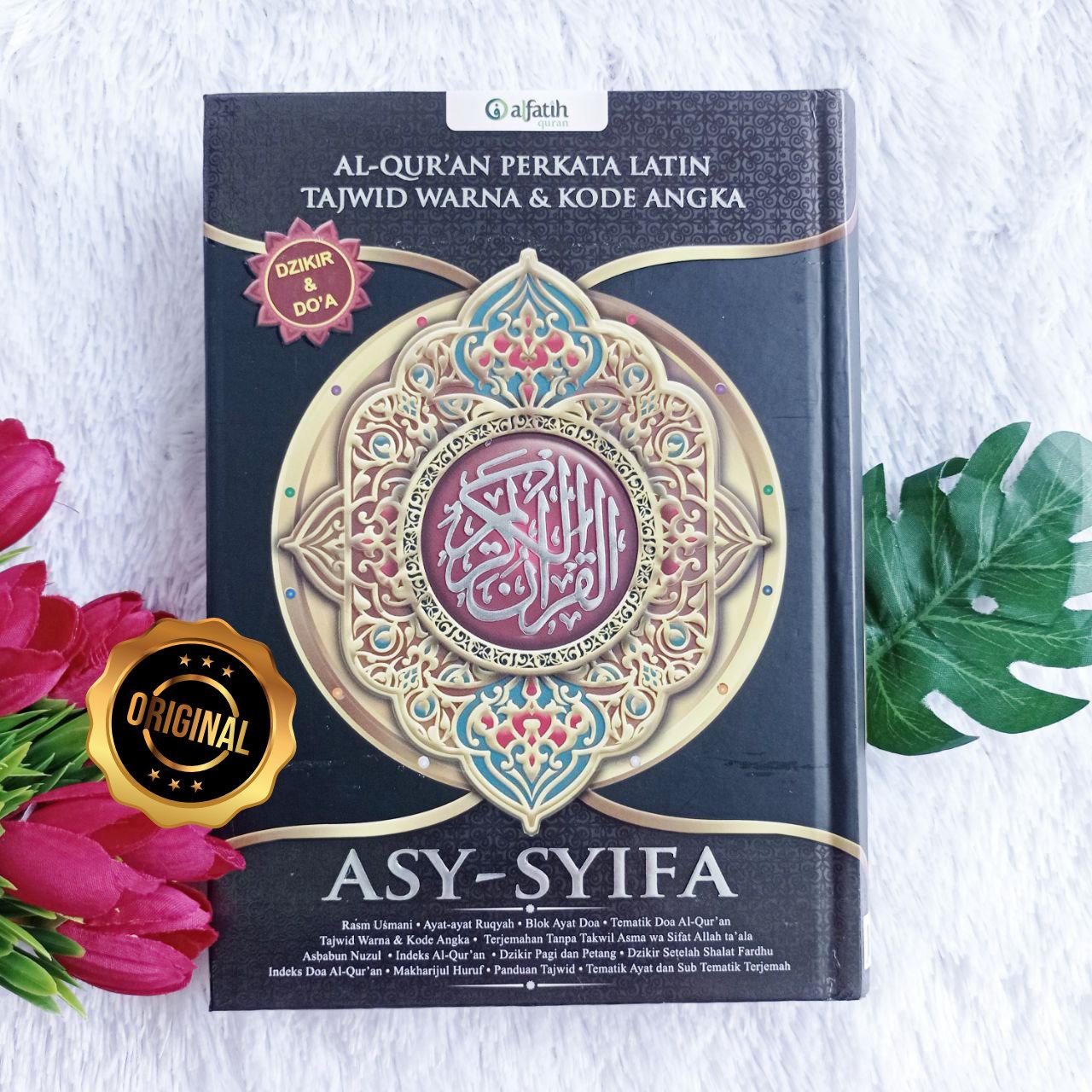 Al-Qur'an Asy Syifa Terjemah Perkata HC Ukuran A5