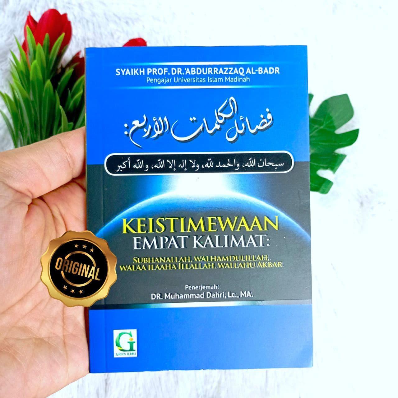 Buku Saku Keistimewaaan Empat Kalimat Agung Nan Mulia Cover