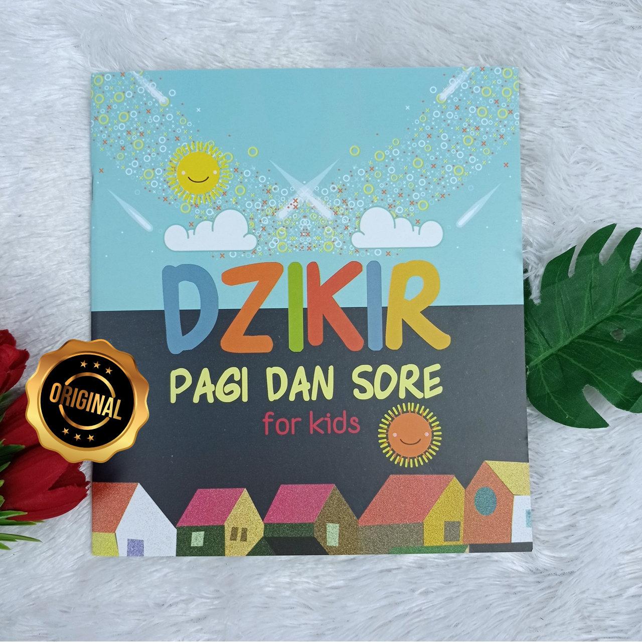 Buku Anak Dzikir Pagi Dan Sore For Kids