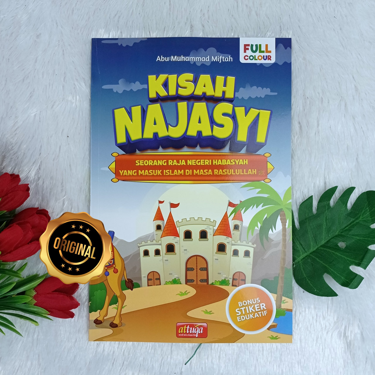 Buku Anak Kisah Najasyi Raja Negeri Habasyah Yang Masuk Islam Di Masa Rasulullah
