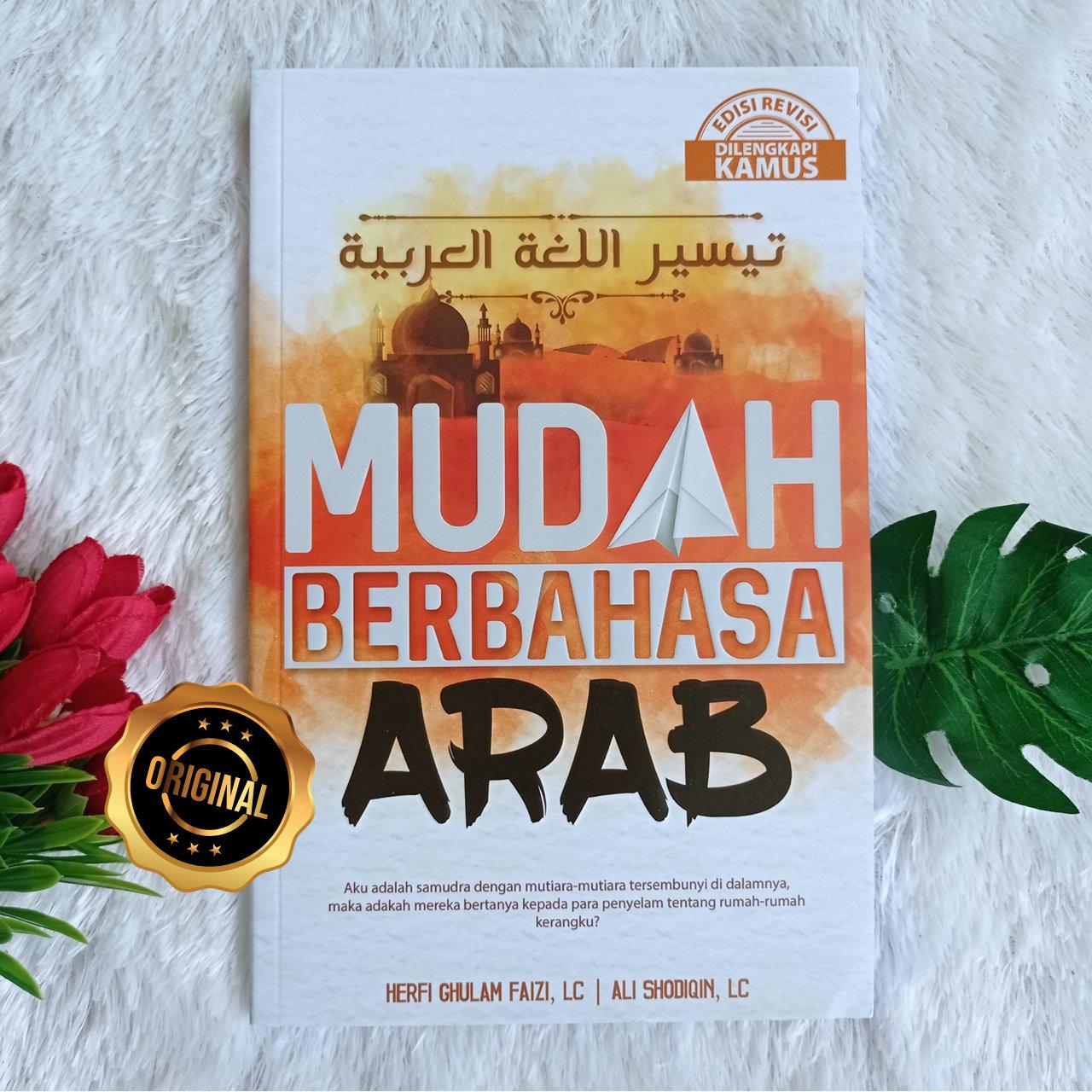 Buku Modul Mudah Berbahasa Arab Metode Tadabburi Dilengkapi Kamus