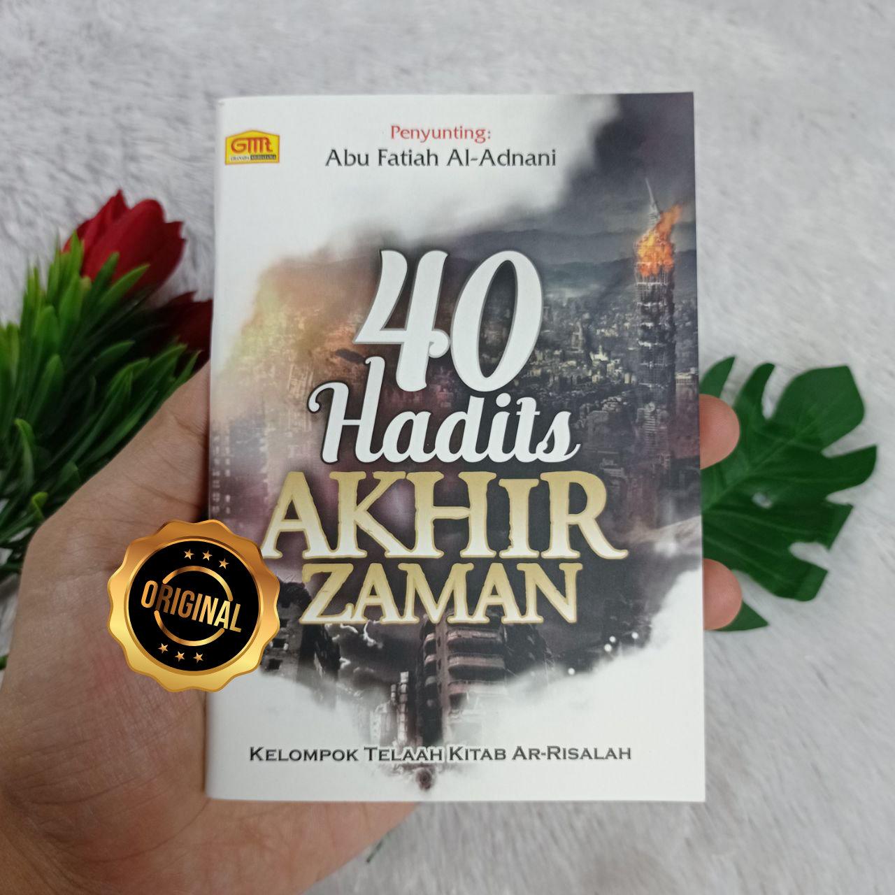 Buku Saku 40 Hadits Akhir Zaman