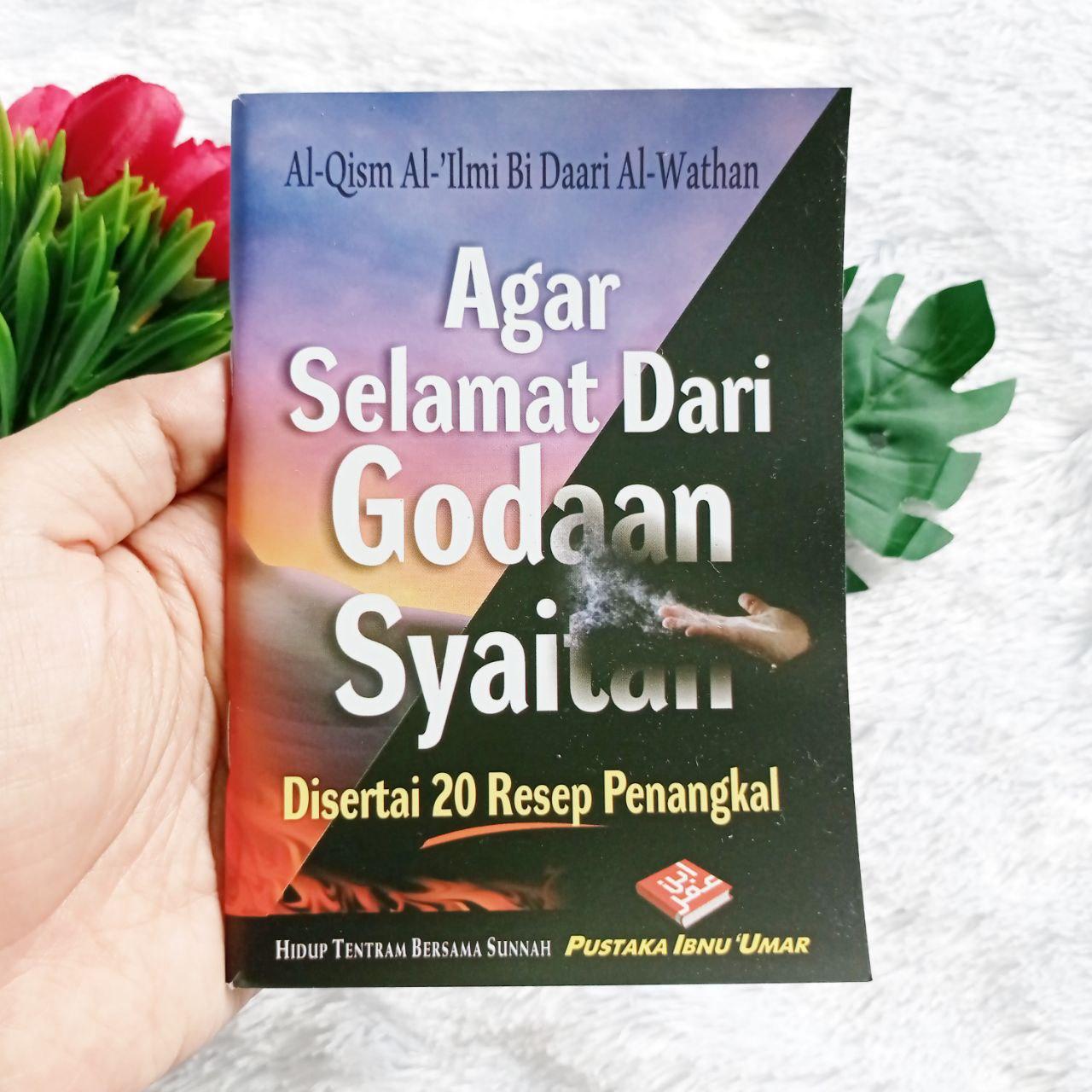 Buku Saku Agar Selamat Dari Godaan Syaitan Plus 20 Resep Penangkalnya