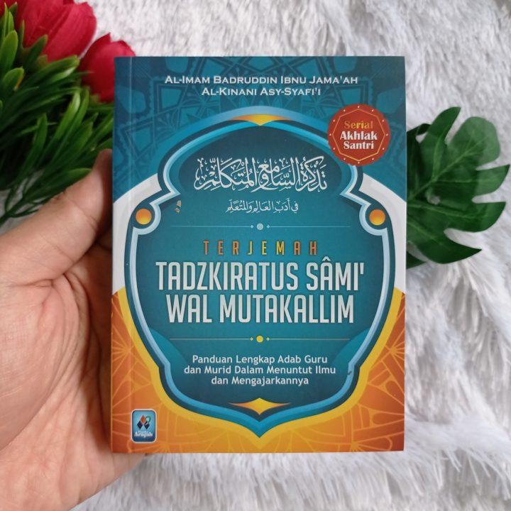 Buku Saku Terjemah Tadzkiratus Sami Wal Mutakallim